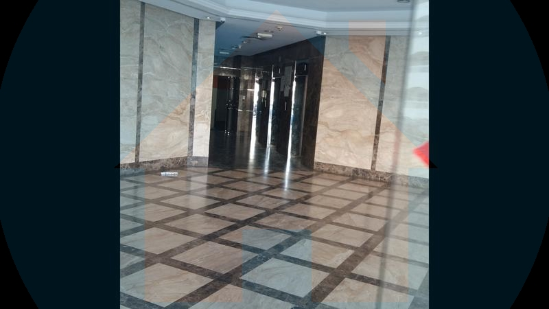 Building enterence in falcon towers ajman