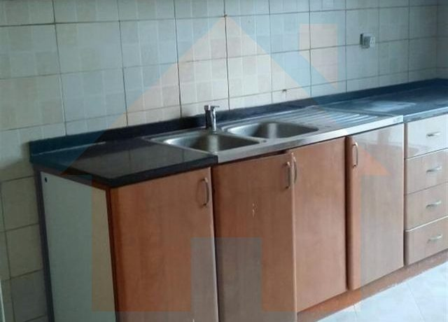 kitchen view in 3 bhk flat in al khor towers ajman