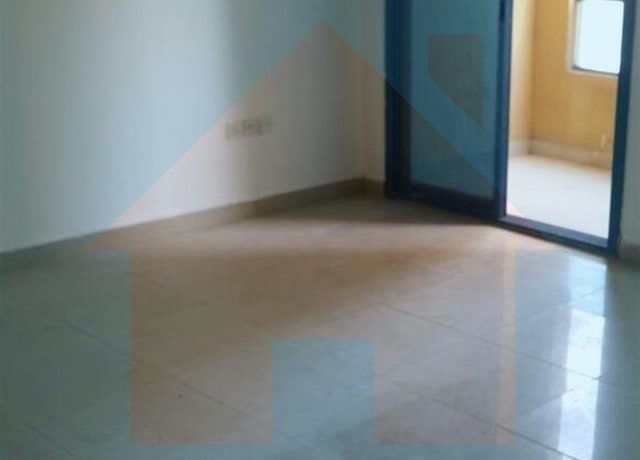 room with balcony view in 3 bhk flat in al khor towers ajman