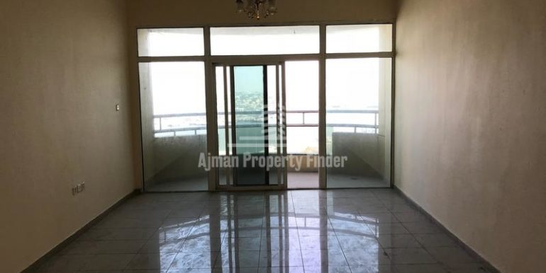 Hall view - Flats in Horizon towers Ajman