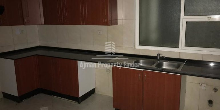 Kitchen View - Flats in Horizon Towers Ajman
