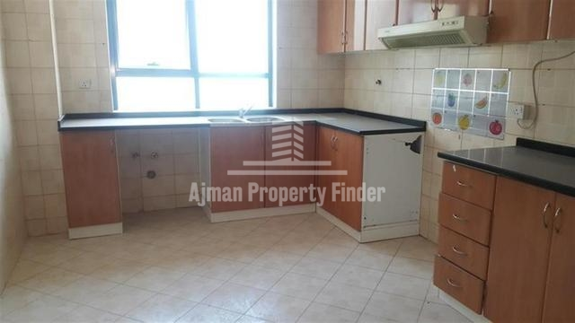 Kitchen view of 2 bhk flat in Al Khor Towers Ajman