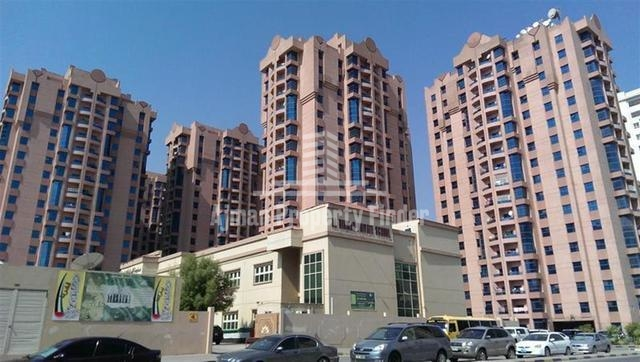 Nuamiyah Towers Ajman - Building view