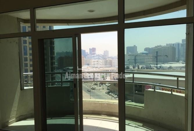 balcony view from 2 bhk in horizon towers ajman