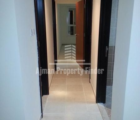 2bhk flat in Mandarin towers Garden City Ajman Corridor view1
