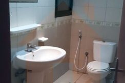 washroom in 1 bhk flat in rashidiyah towers ajman