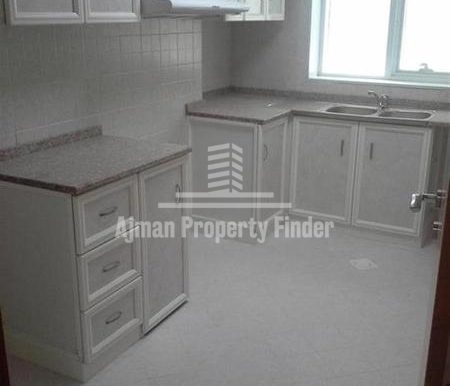 1 BHK flat in Ajman Pearl Towers - Kitchen View