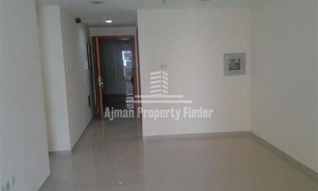 1 BHK flat in Ajman Pearl Towers - View from Hall