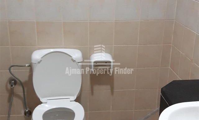 Bathroom in 2 bhk flat in Al Khor towers Ajman