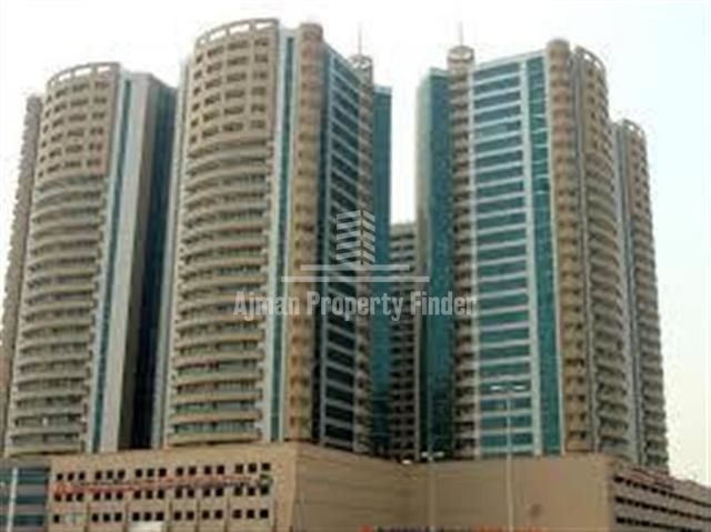 Luxurious 3 BHK Flat for Sale in Horizon Towers Ajman   Residential Freehold Property