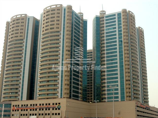 Studio in Horizon Towers | Rent Residential Property in Ajman