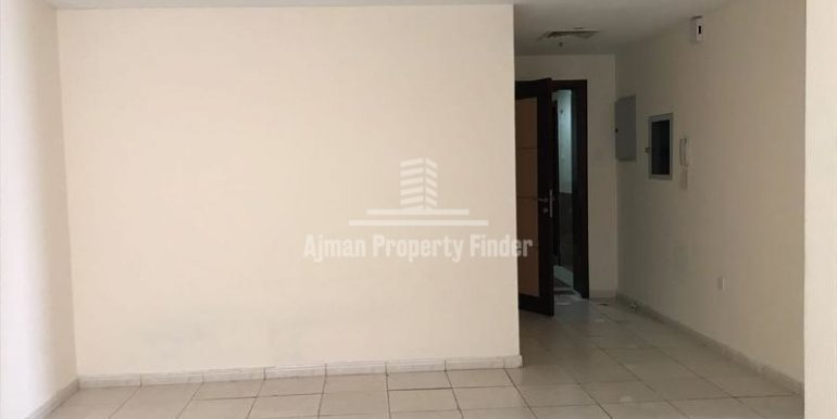 Hall View in 1 bhk in Jasmine Towers Garden City Ajman