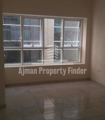 Hall View in 2 bhk flat - Almond towers - garden city ajman
