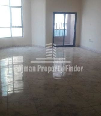 Room view in 3 bhk in Nuamiyah Towers Ajman