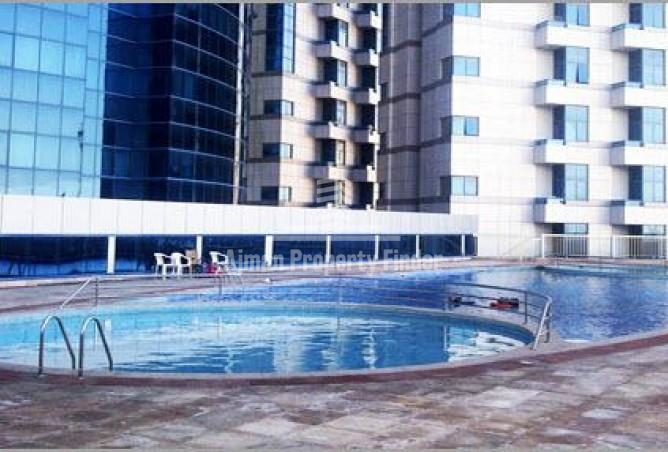 Swimming pool view falcon towers ajman