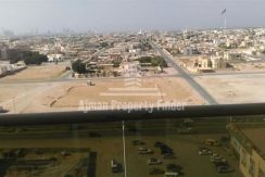 View from Balcony in Mandarin Towers Ajman