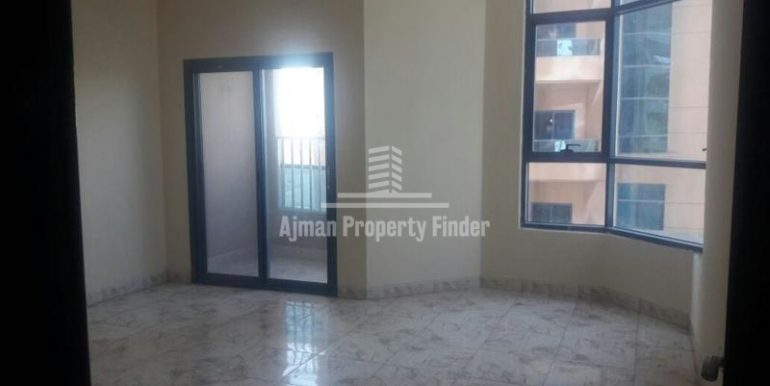 hall view in Nuamiyah Towers Ajman in 3 bhk flat