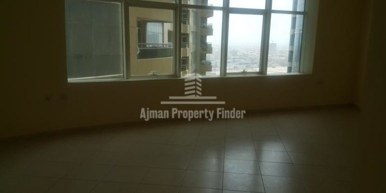 room view - 1bhk flat - Horizon Towers Ajman