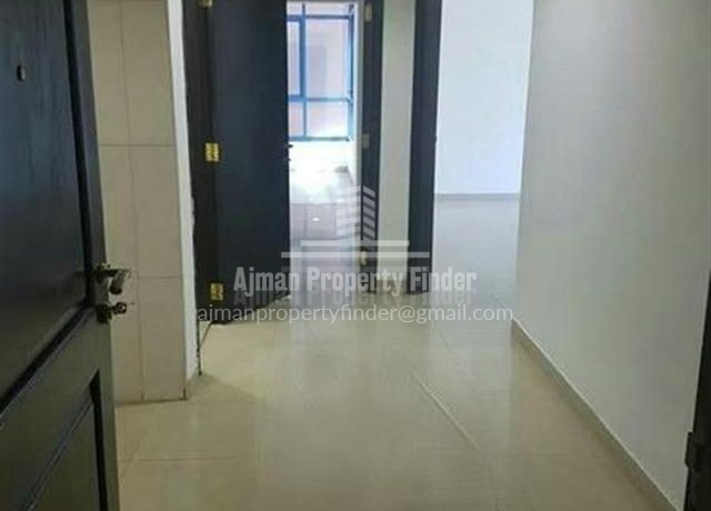 1 bhk Flat in Naumiyah Towers Ajman - corridor view 2