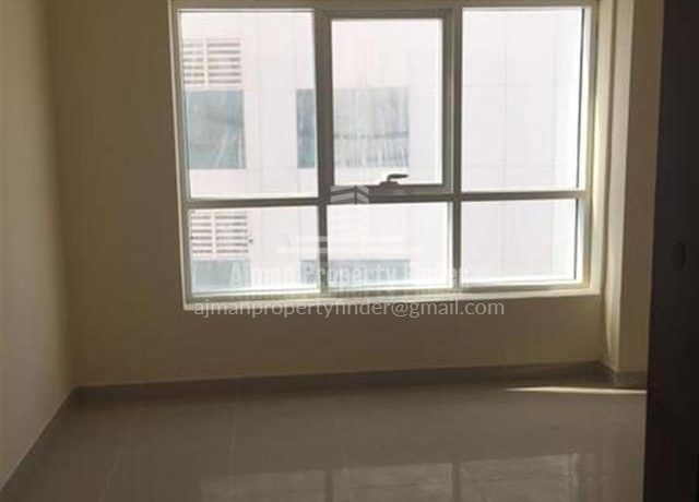 2 BHK flat in Ajman Pearl Towers - View from Hall