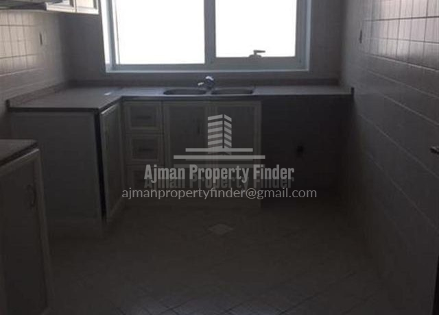 2 BHK flat in Ajman Pearl Towers - kitchen view