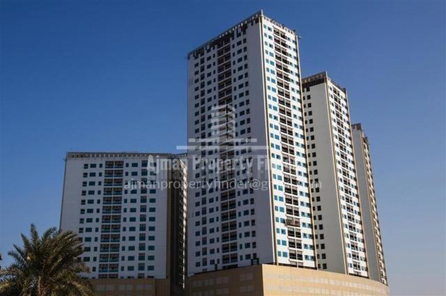 Ajman Pearl Towers - Building View