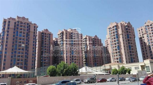 Building View - Nuamiyah towers Ajman -