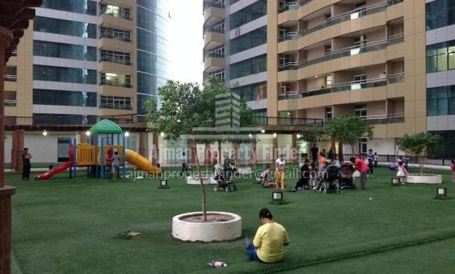 Kids Play Area - Studio in Horizon Towers Ajman