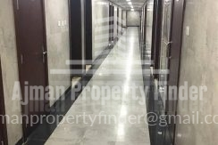 Studio in Nuamiyah Towers Ajman - Corridor view