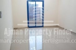 Studio in Nuamiyah Towers Ajman - View to balcony from hall
