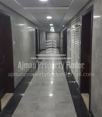 Studio in Nuamiyah Towers - C - Ajman - Corridor view